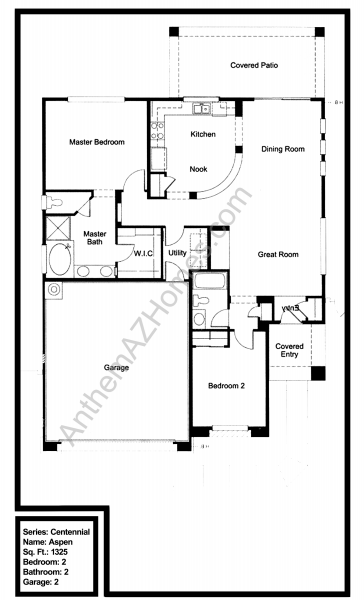 Anthem country club floor plans for Nightclub floor plans