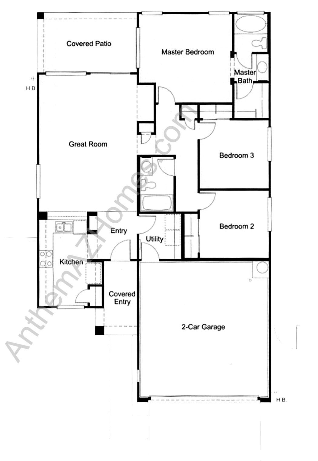 Anthem az house plans house plans for Arizona house plans