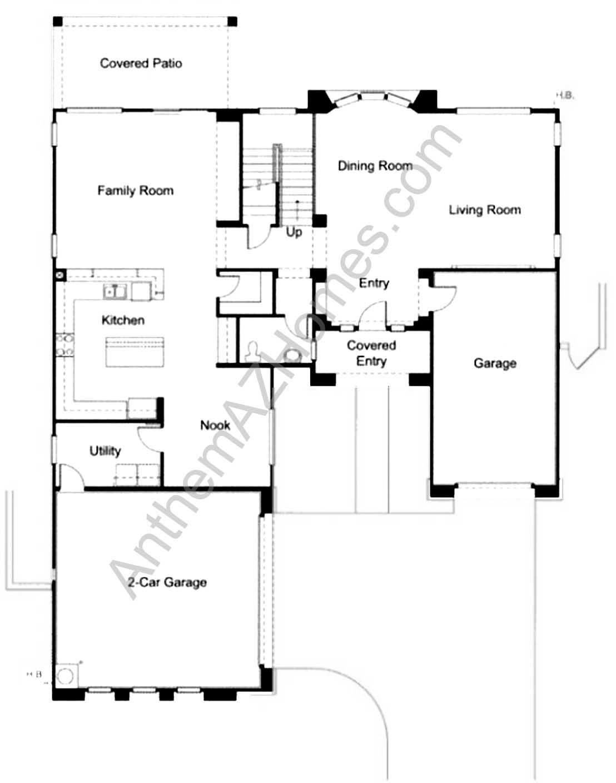 Anthem parkside floor plans for Regal flooring arizona